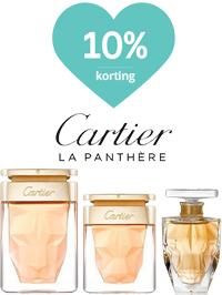 Cartier parfum met 10% korting